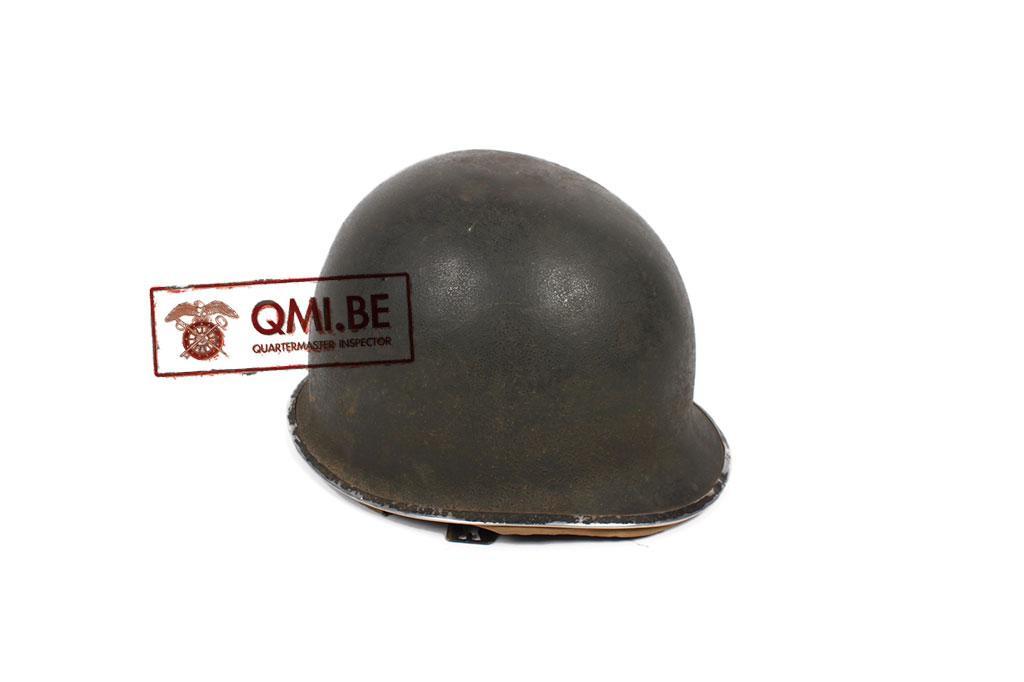 US WW2 orig. M1 helmet with Hawley liner