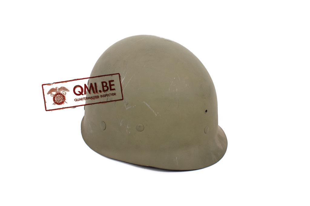 """US WW2 orig. M1 helmet liner """"HR"""""""