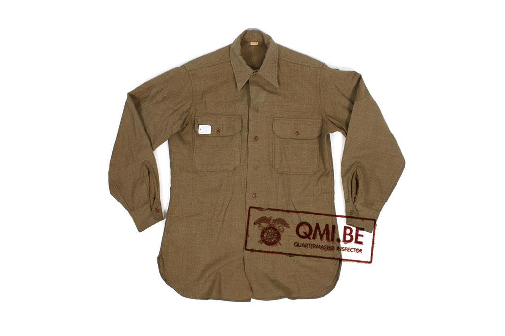 US M-1937 enlisted wool shirt