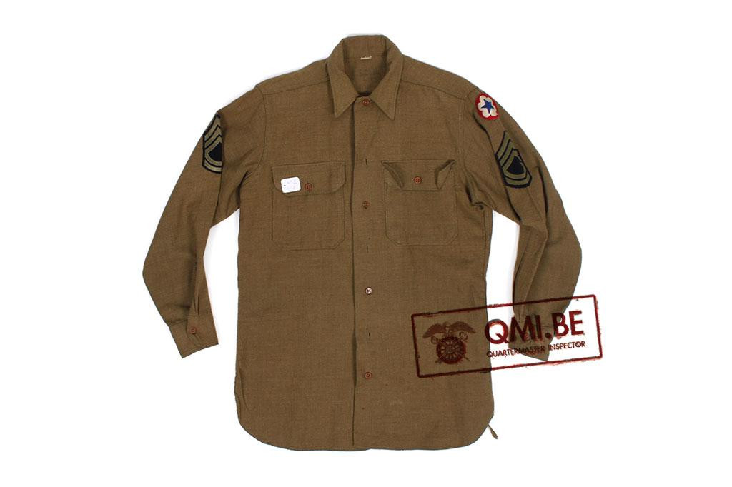 US M-1937 enlisted wool shirt (7)