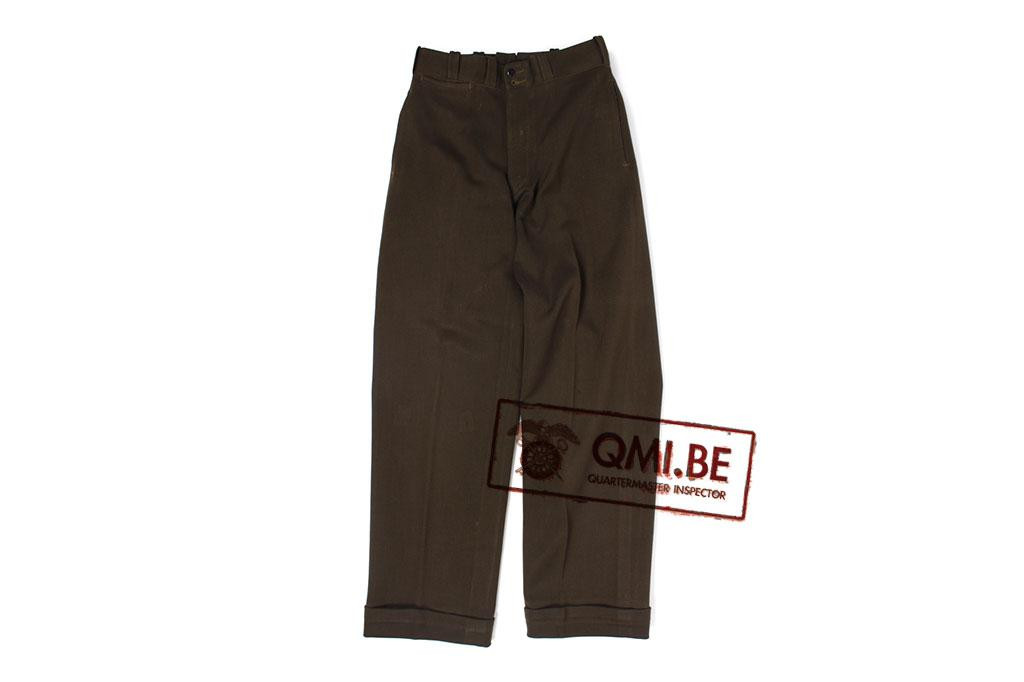 US WW2 officers wool dress trousers