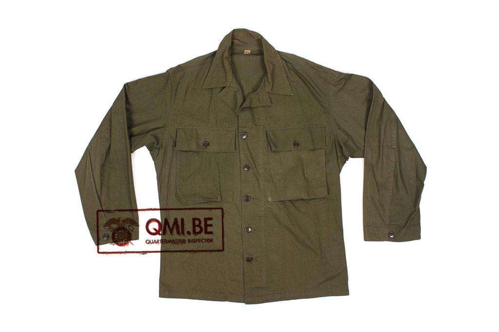 US WW2 HBT jacket, 38R (1)