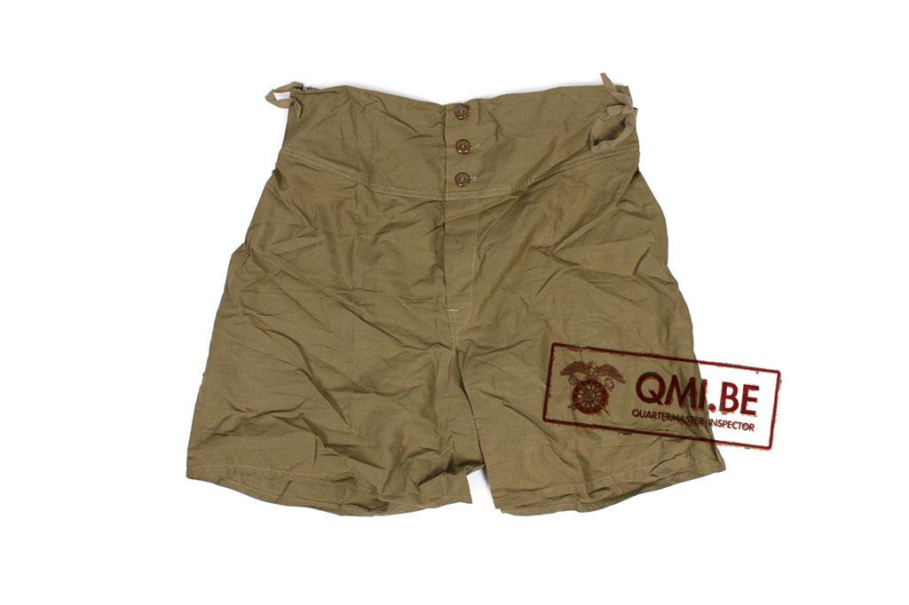US WW2 green boxer short