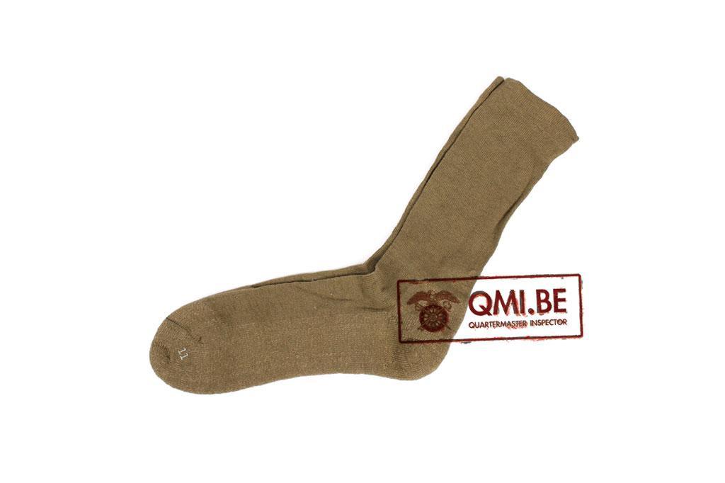 US WW2 light green socks, size: 11