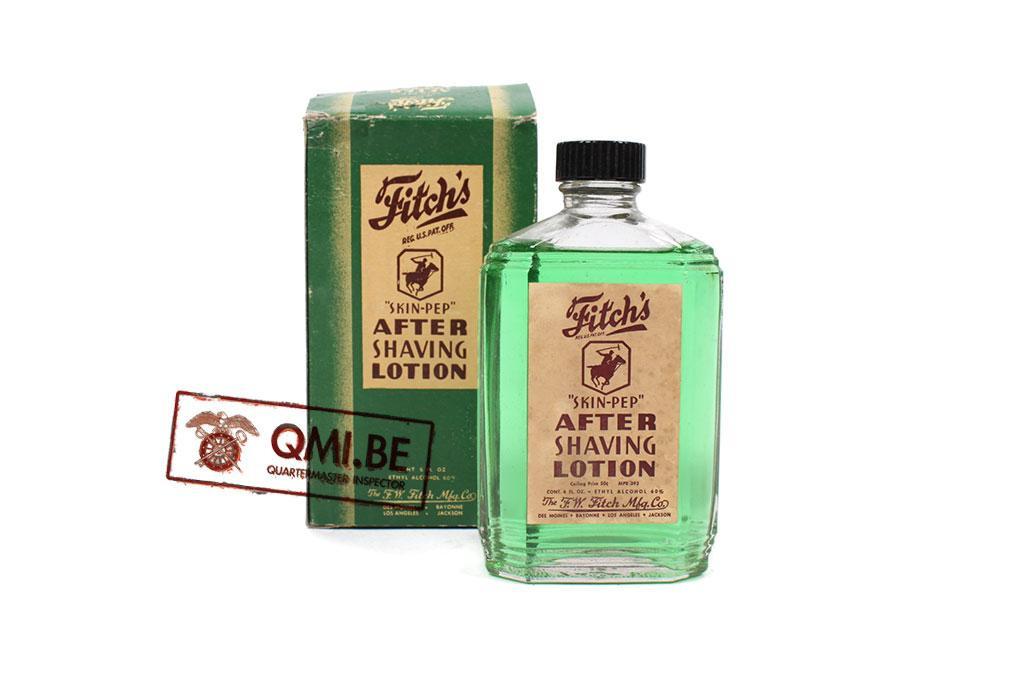 Original US WW2 full bottle of Aftershave