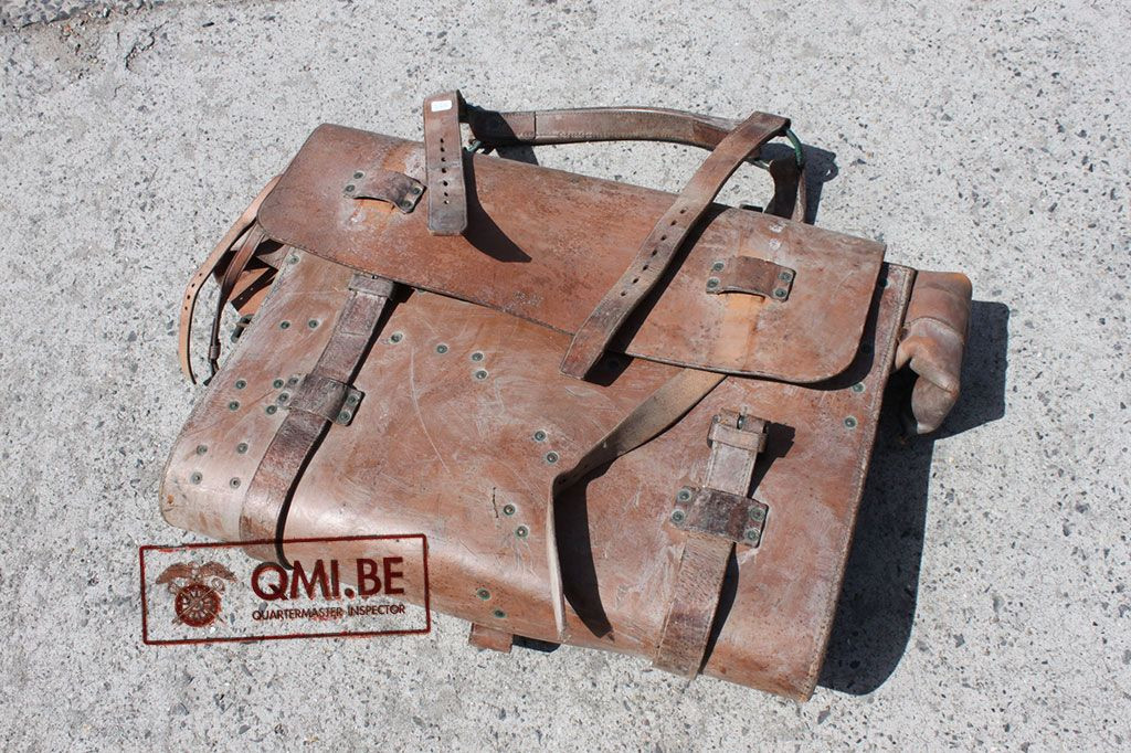 Original US WW2 leather Tool roll 1943