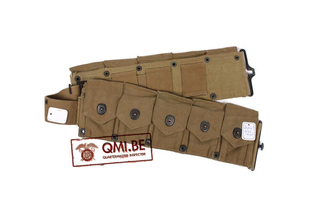 Original US WW2 M-1923 Cartridge belt (3)