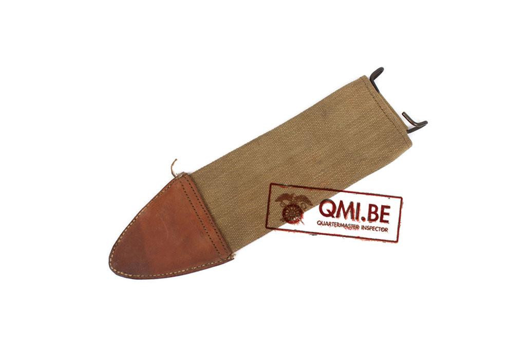 Original US WW1 Bolo knife scabbard canvas