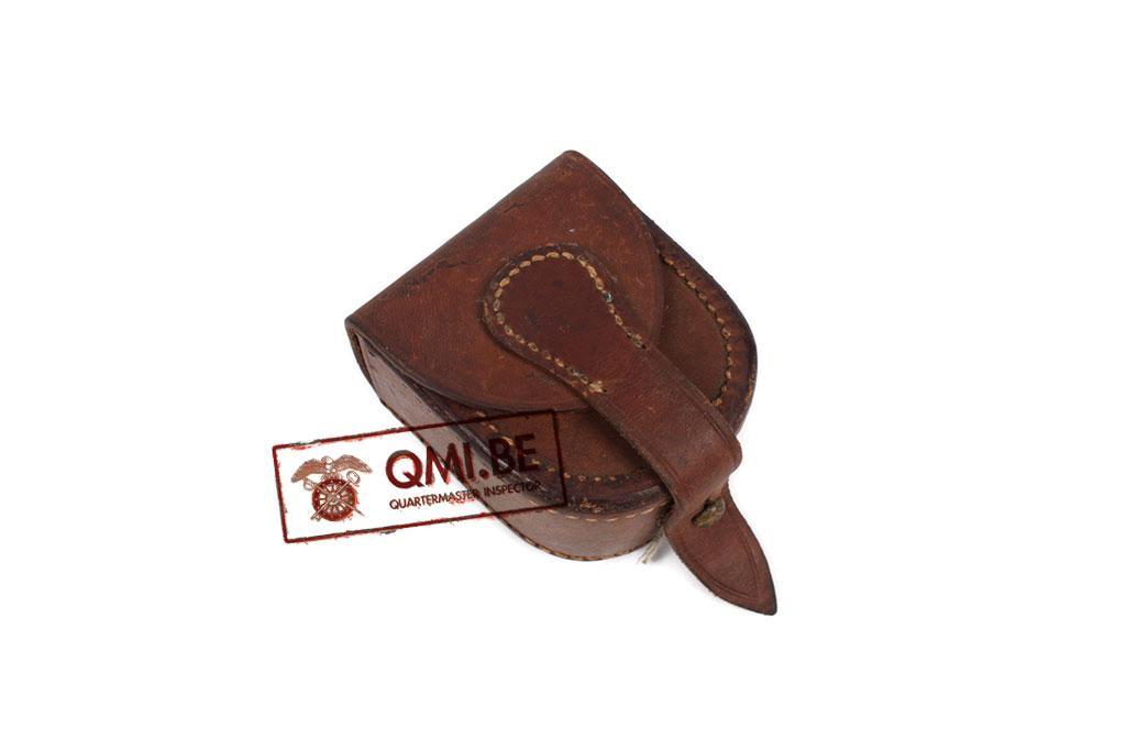 Original US WW1 leather compass pouch