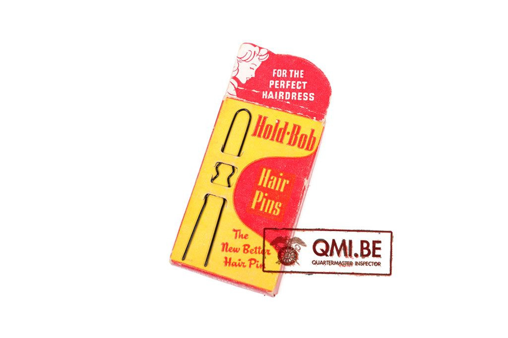 Original US WW2 WAAC Hold-Bob Hair pins