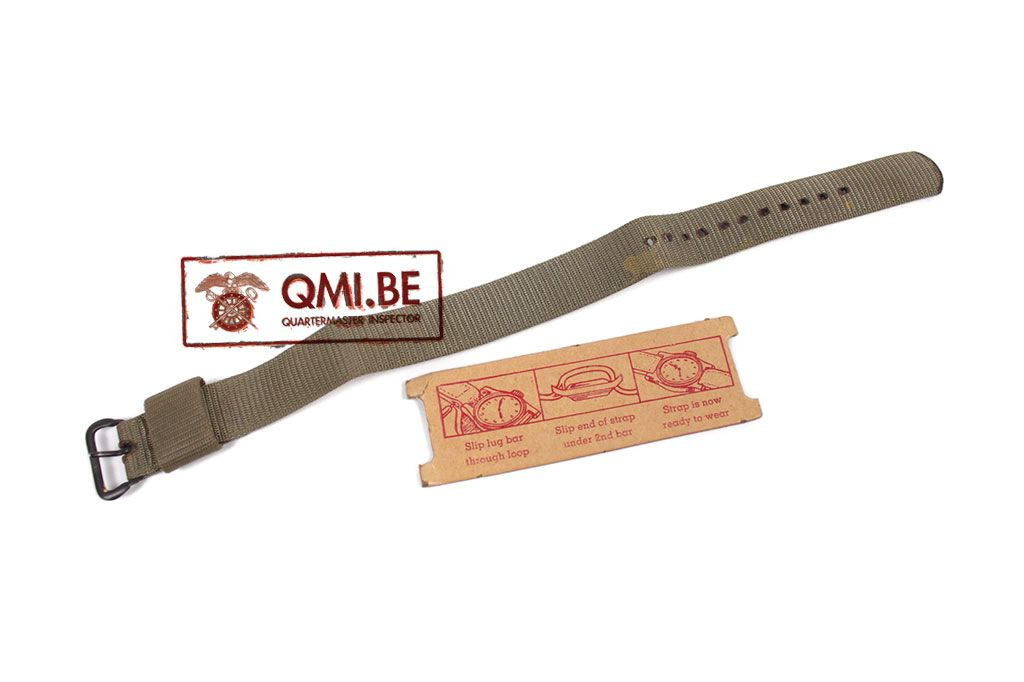 "Original US, Water Repellent Watch Strap ""American Strap Co."""