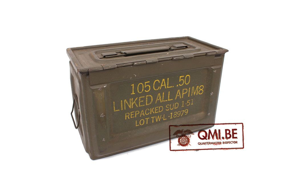 Original US WW2 Model .50 Cal Ammo Can
