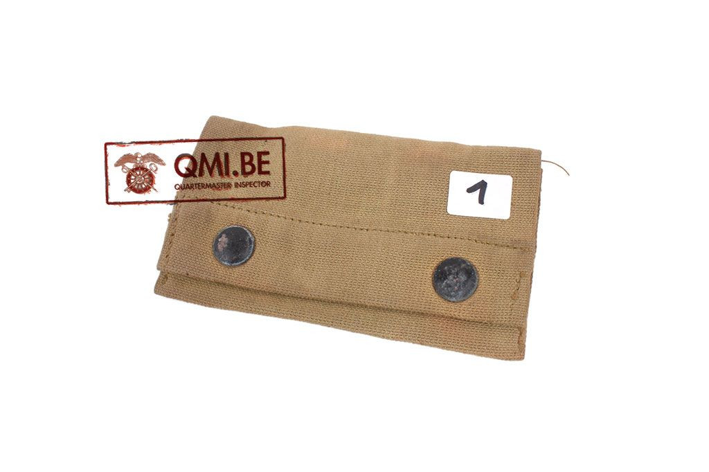 DEFECT Original US WW1 First aid pouch, THE M-H CO. 9-1918 (#1)
