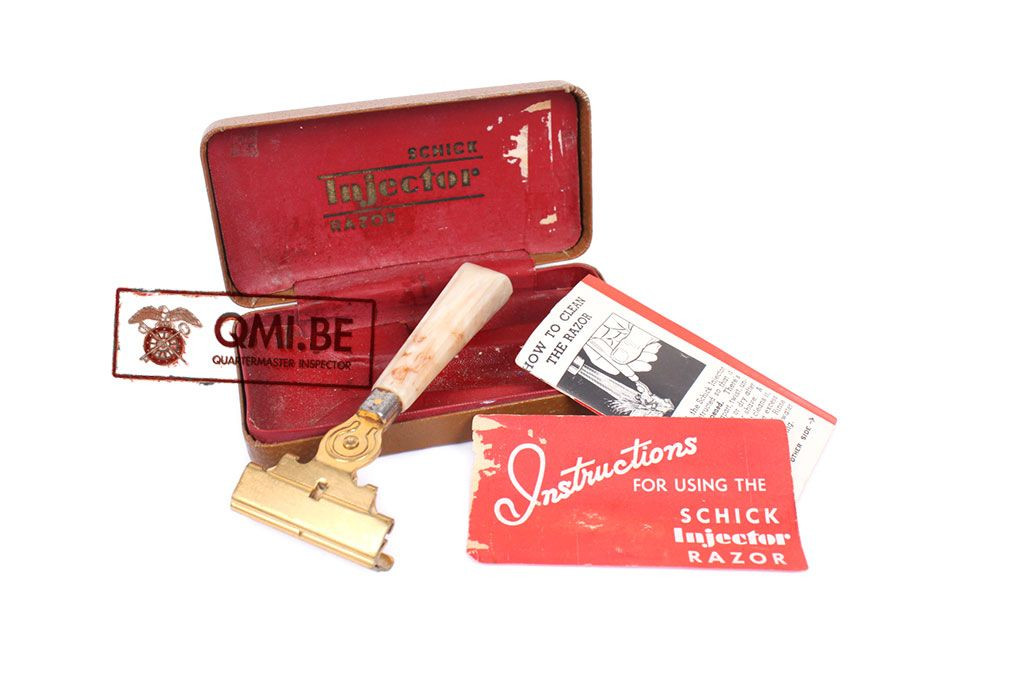 Original WW2 Wartime Schick Injector Razor 1941