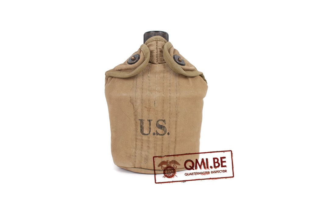 Original US WW2 Waterbottle Mounted M-1941 (Airborne) #3