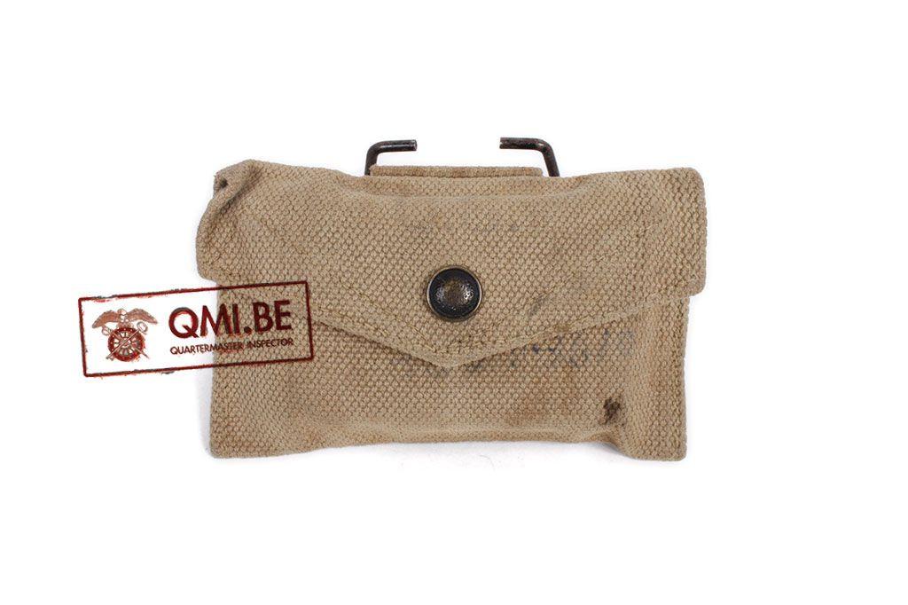 "Original US WW2 First Aid Pouch M-1924 ""British Made"""