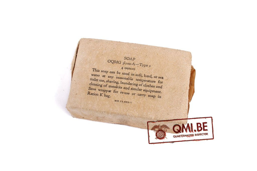 Original US WW2 Soap, OQMG #100-A Type 1