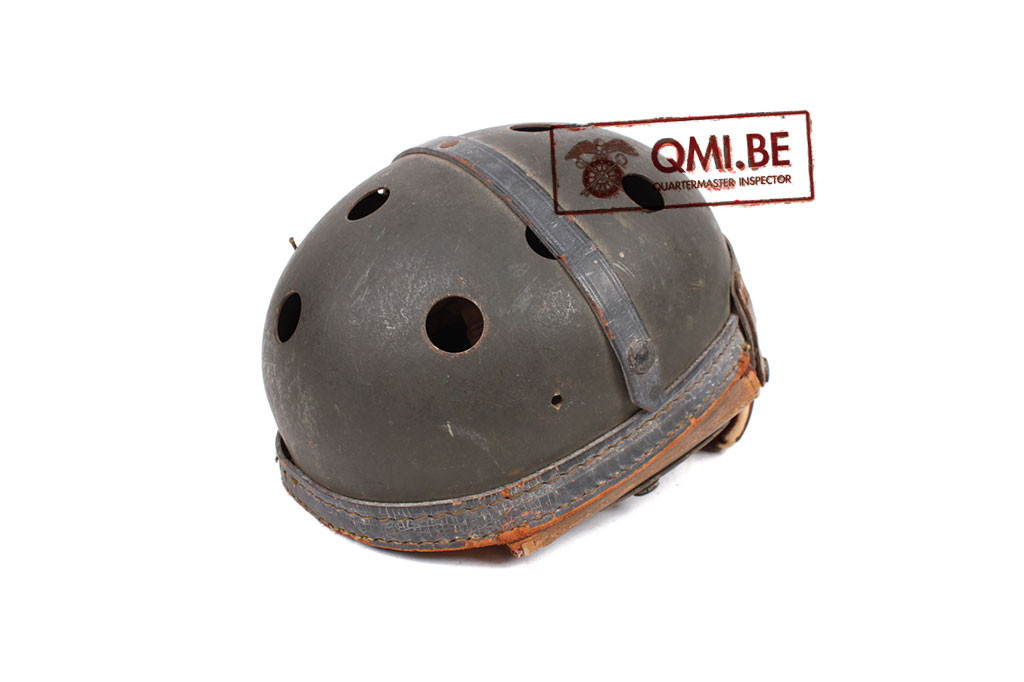 Original US WW2, M1938 Tanker helmet, 30th Anniversary