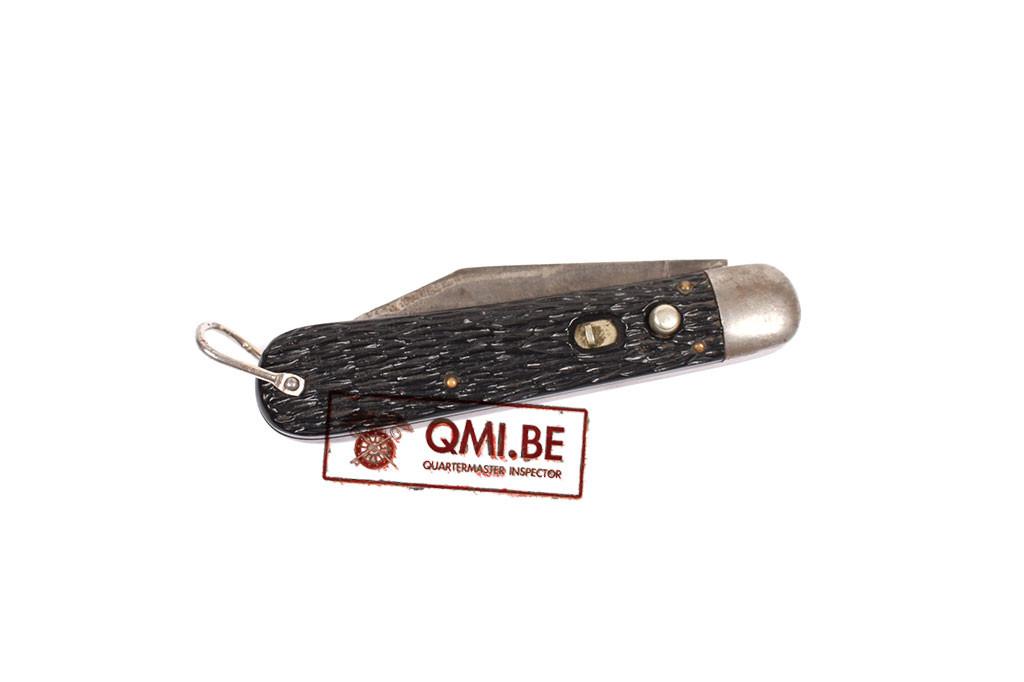 Original US WW2 style Korean War Airborne M2 Pocket knife Made by Schrade Walden N.Y.