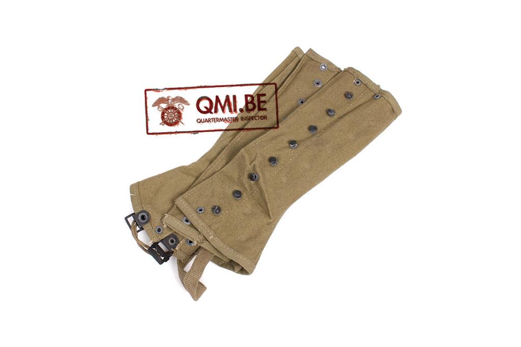 Original US WW2, M1938 Leggings 3R (9-26-1942)