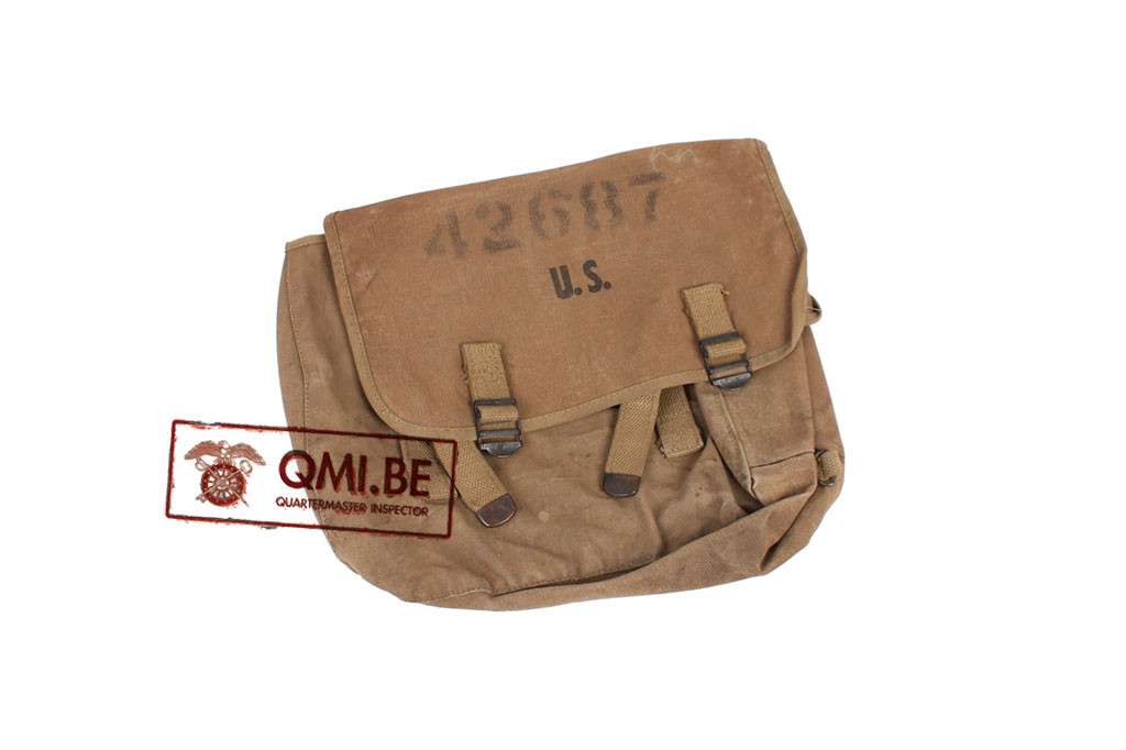 Original US WW2, M1936 Musette Bag, Hamlin Canvas Goods Co. 1942