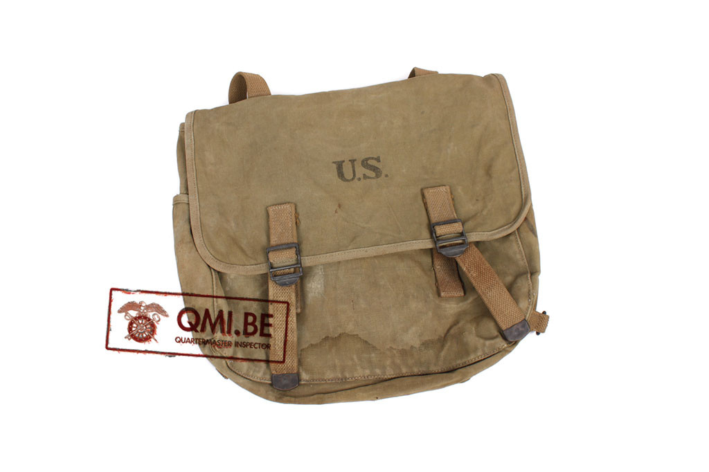 Original US WW2 M36 Musette Bag (1941, Power & Co Inc.)