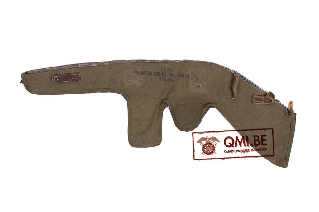 Original US WW2 Thompson Sub Machine Gun cover D50268 (1)