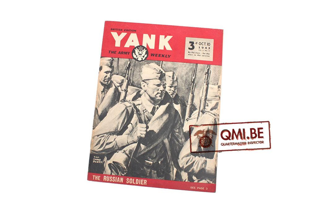 US Yank magazine Oct. 1943