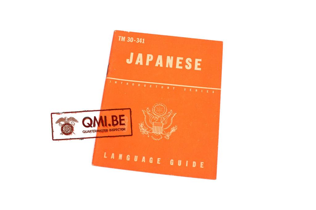 Original US WW2, Japanese Language Guide, Dated June 18, 1943