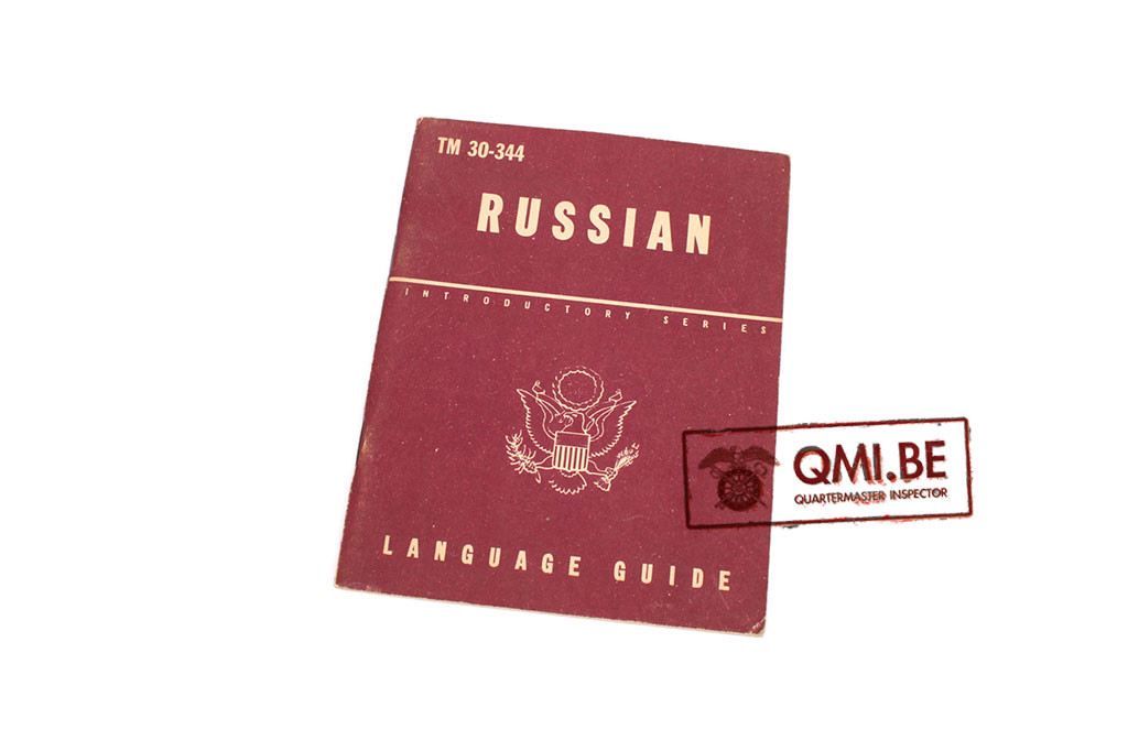 Original US WW2, Russian Language Guide, Dated June 23, 1943