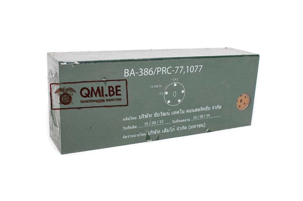 Battery PRC-77 / PRC-25, Modern Thai