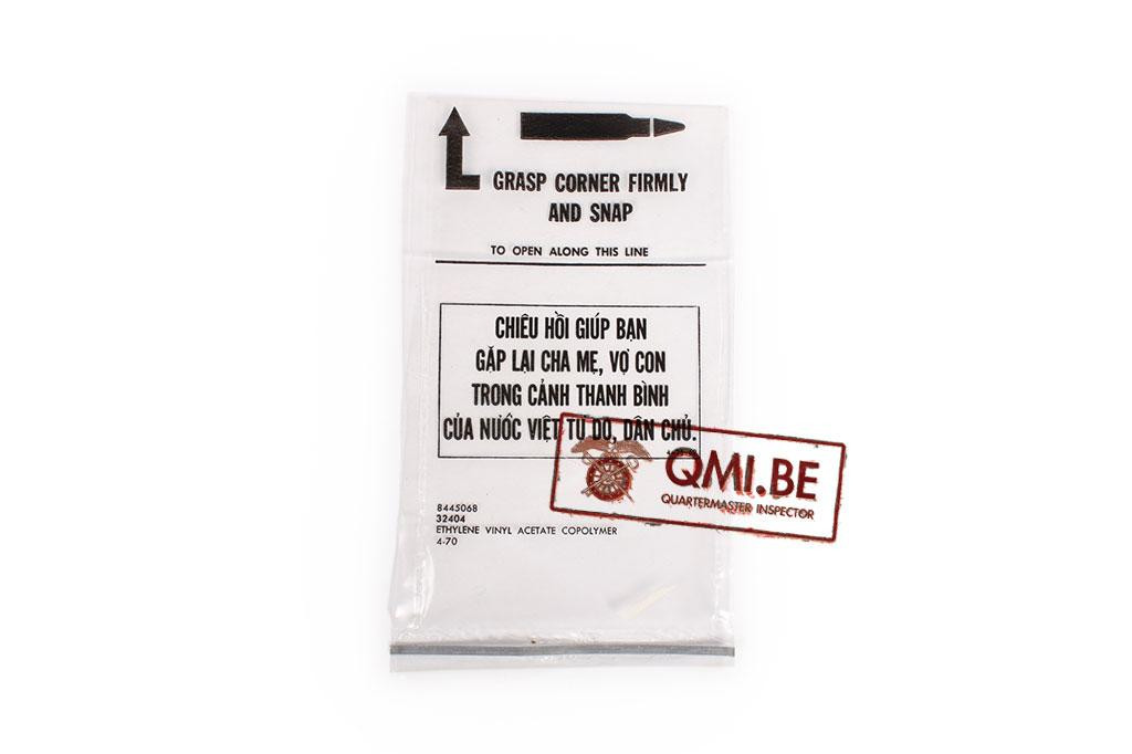 Plastic bag, M16 magazine (Chiêu Hồi Program)