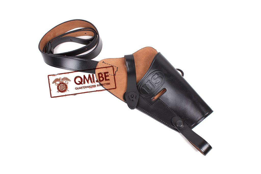 Leather Shoulder holster M3, (Colt.45) Black