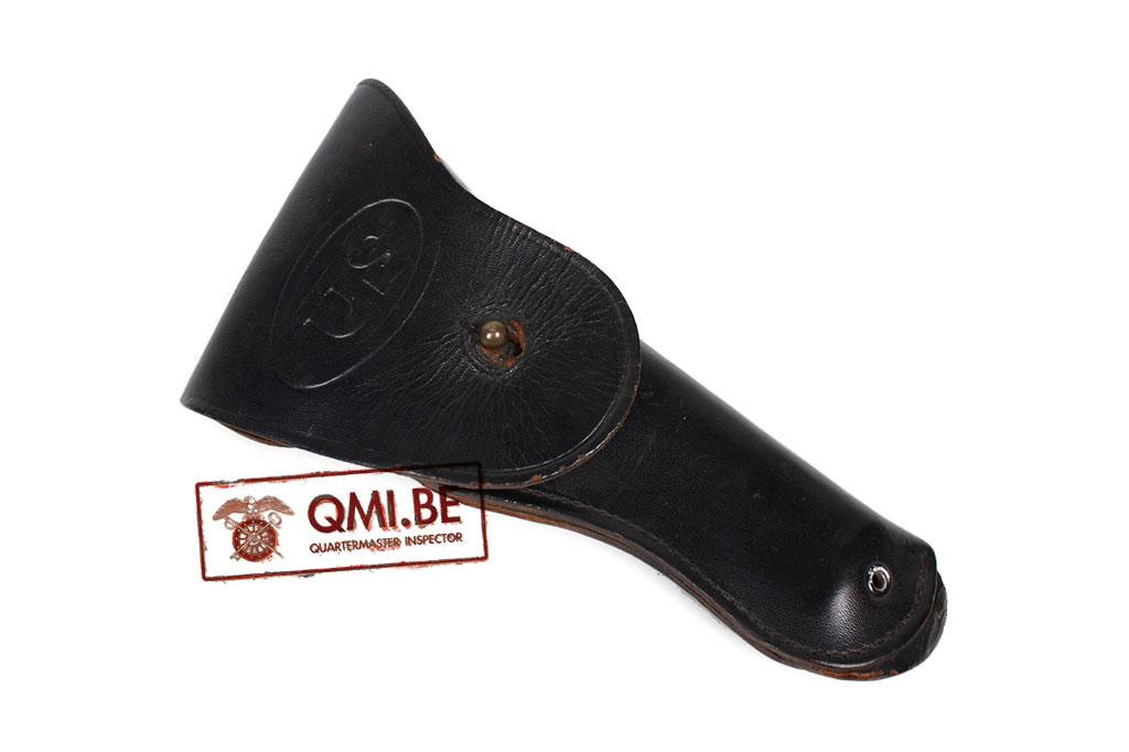 Holster, Colt .45 pistol (Black leather)