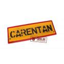 Wooden road sign, Carentan