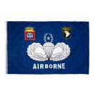 Flag, 82nd / 101st Airborne (Blue)