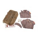 Original US WW2, Canvas Suitcase bag, 1st LT Nurse Dorothy Bowser