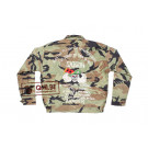 Camouflage Liner Jacket, size 44, Embroidered (#2)