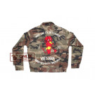 Camouflage Liner Jacket, size 40, Embroidered (#3)