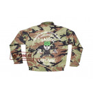 Camouflage Liner Jacket, size 42, Embroidered (#4)