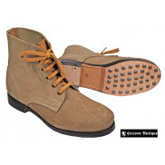 German Low Boots with Hobnails with Heavy Duty Soles