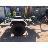 US Chassis Trailer 1 Ton 2 Wheel M116A3