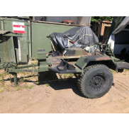 US Chassis Trailer 1 Ton 2 Wheel M116A3 (NOS)