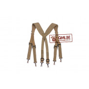 Original US WW2 M-1936 suspenders British Made, dated 1944