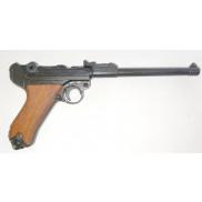 Luger P08 Artillery with wooden grips (Non-firing replica Denix)