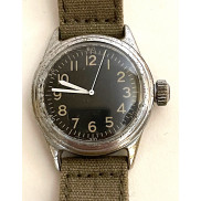 Original WW2 USAAF Type A-11 Watch by Elgin, 1944 (OD strap)