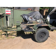 US Chassis Trailer 1 Ton 2Wheel M116A3 NOS