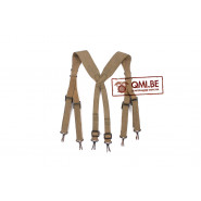 Original US WW2 M-1936 suspenders British Made, dated 1944