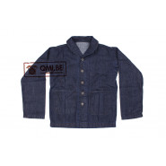 U.S. Navy Shawl Collar Denim Work Jacket