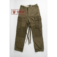M43 Trousers, Field, Cotton O.D., PARA VARSITY (De Brabander Mfg. Co.)
